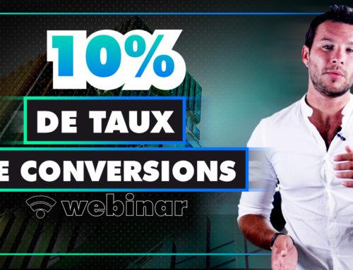 Comment avoir un taux de conversion de 10 % à votre webinar ?